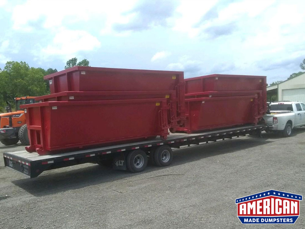15 Yard Cable Dumpsters - American Made Dumpsters