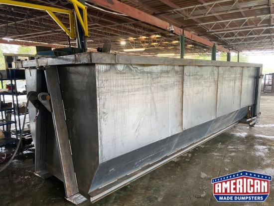 54 Inch Hook Dumpsters - American Made Dumpsters
