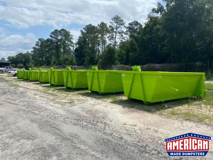 62 Inch Hook Lift Dumpsters - American Made Dumpsters