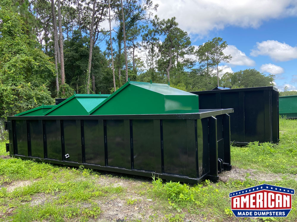 Dead Lift Style Dumpsters - American Made Dumpsters
