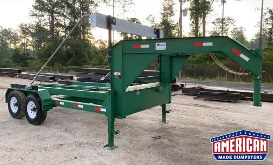 Roll-Off Dumpster Trailer - American Made Dumpsters