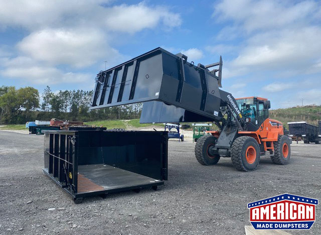 Switch-N-Go Style Dumpsters - American Made Dumpsters