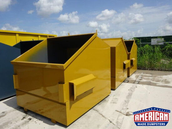 Front Load Dumpsters - American Made Dumpsters