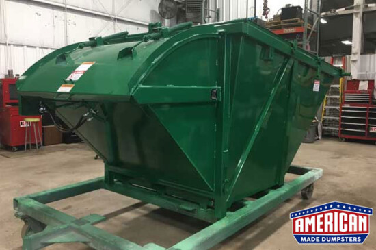 KPAC Style 6 Yard Self ContainedCompactor - American Made Dumpsters