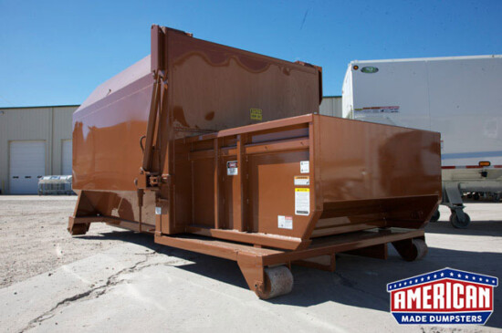 KPAC Style Self Contained Compactor - American Made Dumpsters