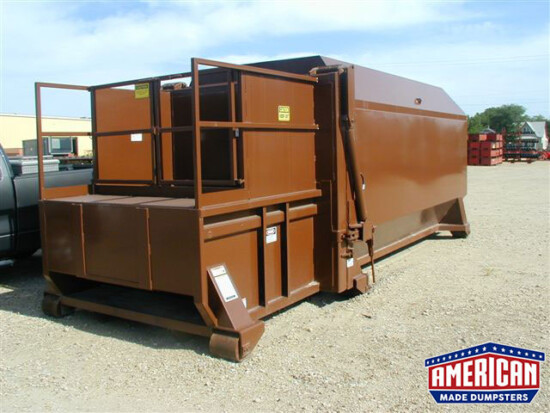 KPAC Style Self ContainedCompactor - American Made Dumpsters