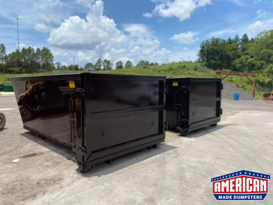 Texas Pride Style 12 Yard Dumpsters - American Made Dumpsters