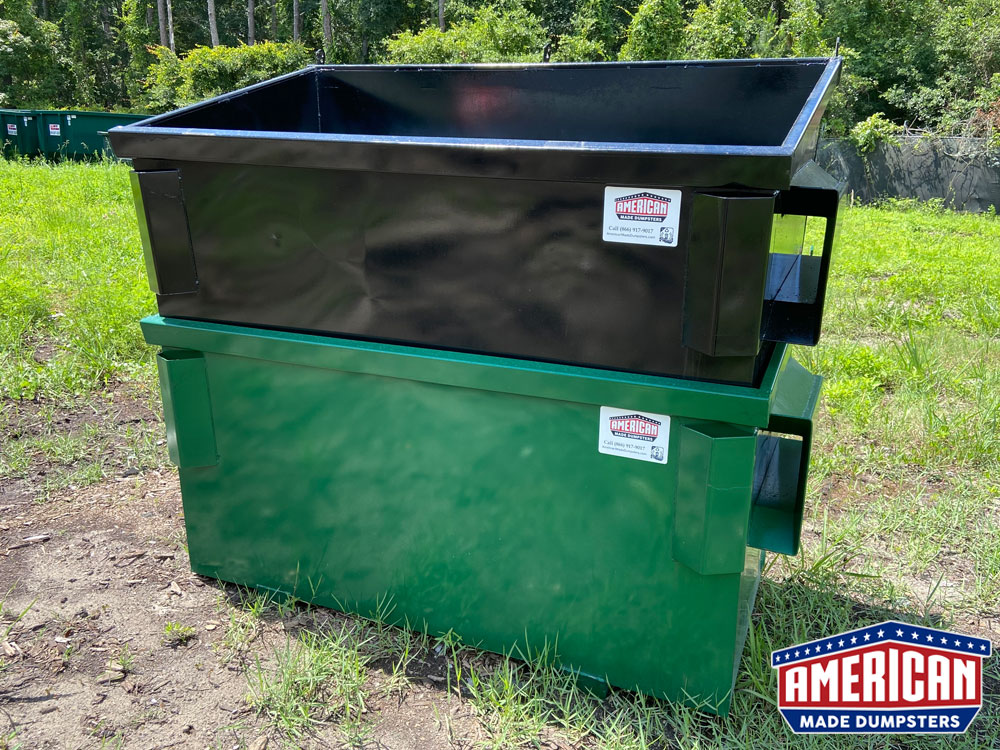 2 Yard Business Dumpster - American Made Dumpsters