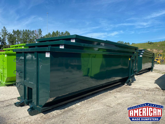 30 Yard Tub Style Dumpsters - American Made Dumpsters