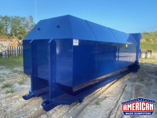 40 Yard Compaction Containers - American Made Dumpsters