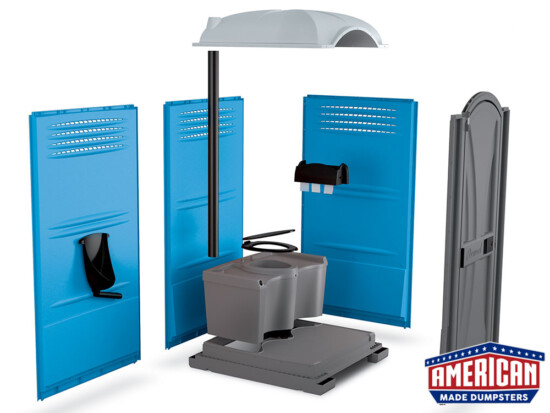 Portable Toilets - American Made Dumpsters